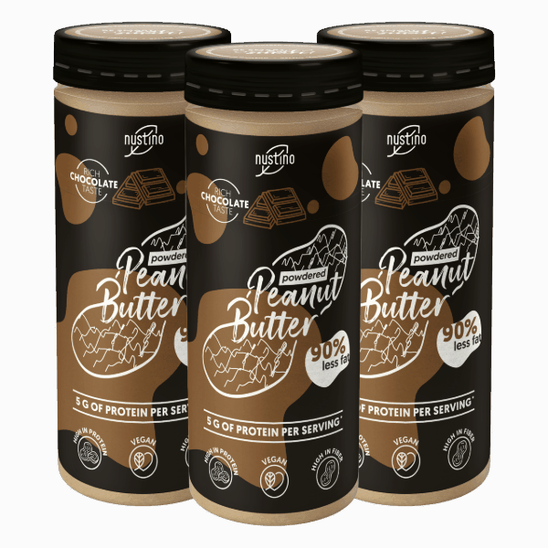 Nustino Powdered Peanut Butter 3x200g