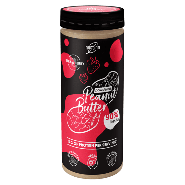 Nustino Powdered Peanut Butter Strawberry 200g